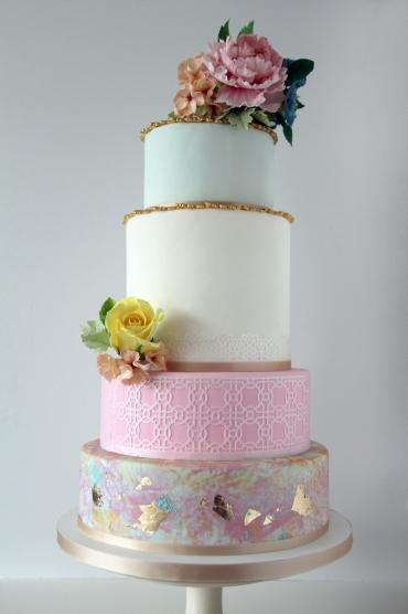 Boho Cake1